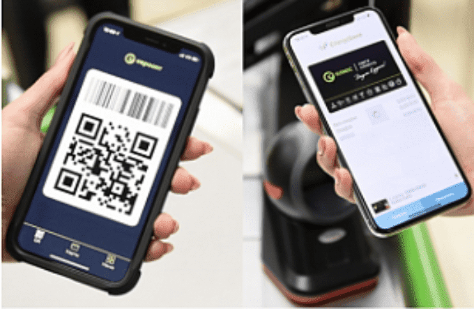 Euroopt payments by QR code